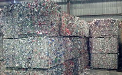 Aluminum Bales for Recycling
